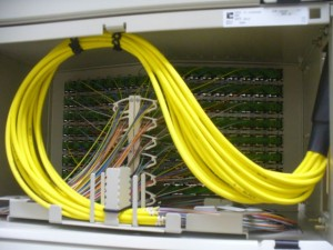 A Fiber Optic Enclosure