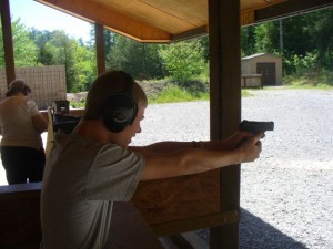 Shooting the 9mm