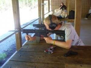 Me Shooting the M-16