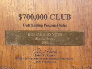 Awards Aplenty for Richard
