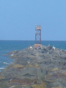 The Tower at the end of the Pier (with camera on full zoom)