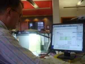 Mr. Tulis at Work
