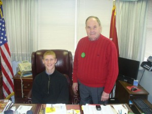Me With The Mayor